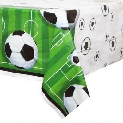Football themed tablecloth