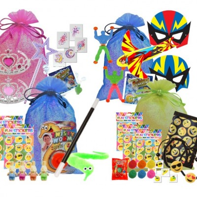 All Pre-filled party bags