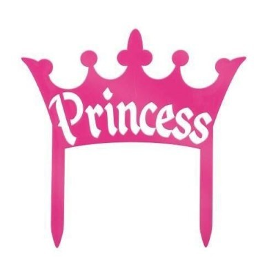 Princess crown cake decoration