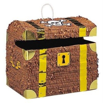 Pirate chest pinata