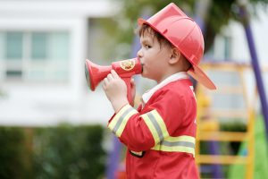 Fireman kids party theme