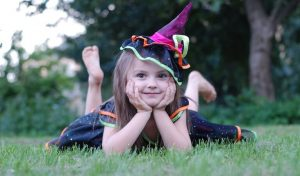 Witch kid party theme
