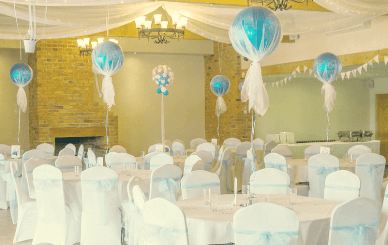 Booking a function room for a kid's party