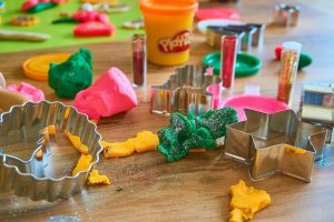 Playdough arts and crafts