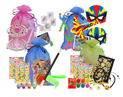 What should you put in a kids' party bag?