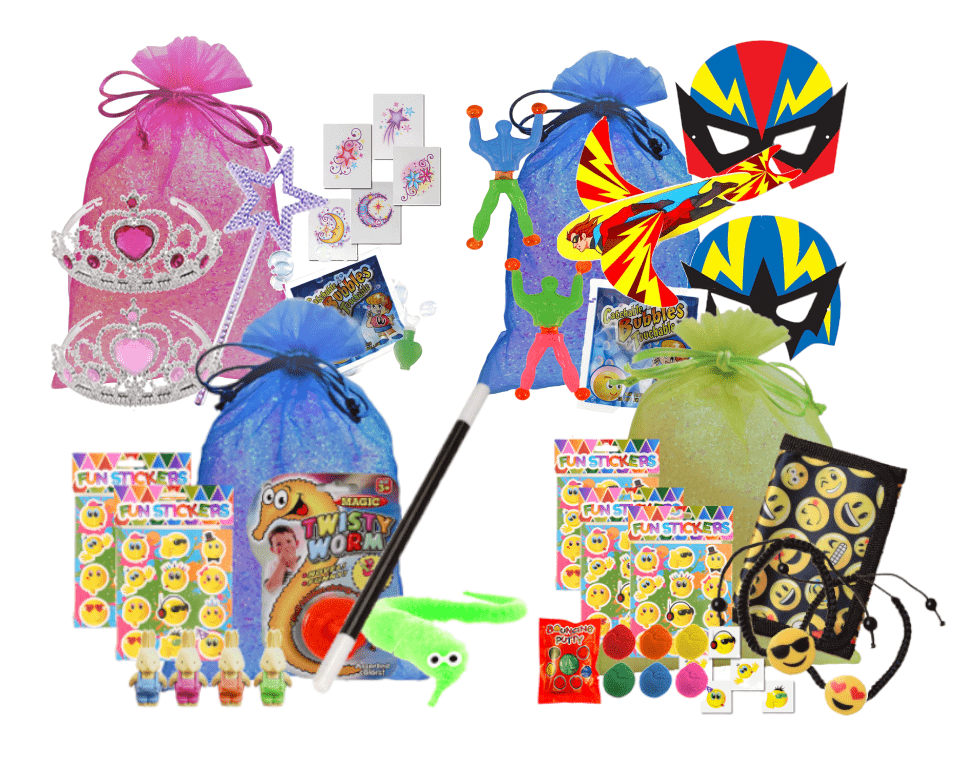 uk availability good texture nice cheap What should you put in a kids' party bag? | PartyWizz Blog
