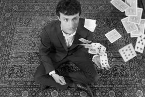 Yvan Zim Magician With Cards