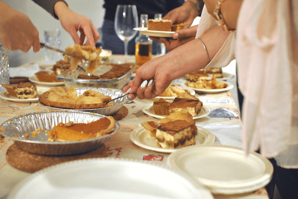Communion Food Buffet