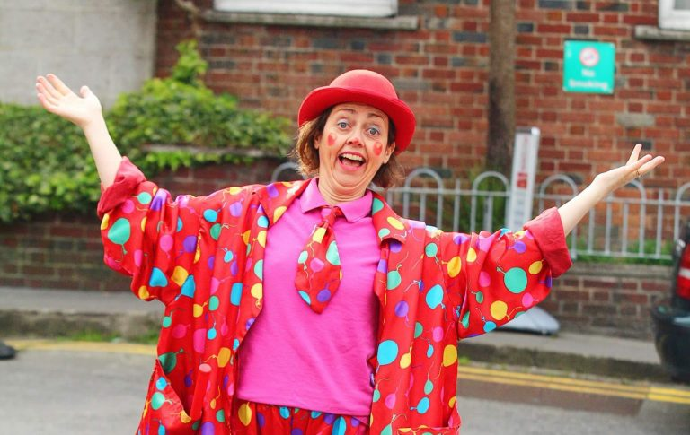 Get to know Silly Sally the Clown