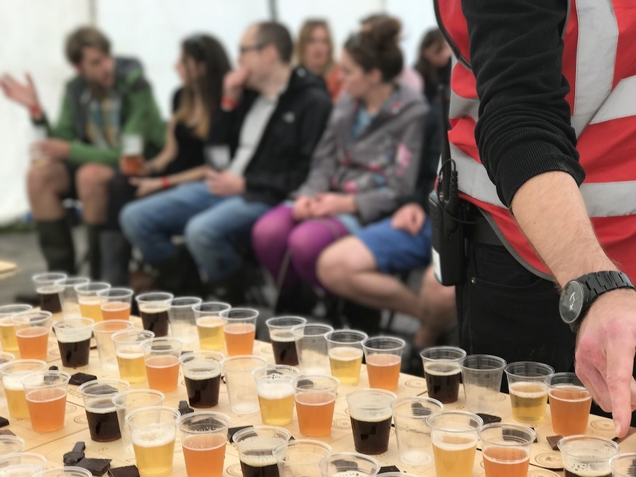 Team Beer making course