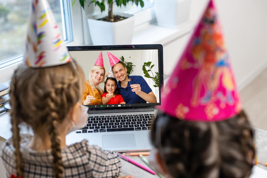Read more about the article Virtual birthday party ideas for kids